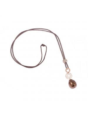 Ippocampo collar Le Perle para mujer con colgante