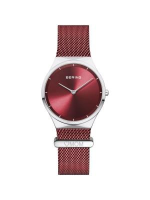Bering, reloj rojo de mujer especial Día de la Madre