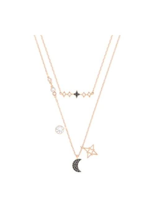 Swarovski conjunto de collares Symbolic Moon, multicolor