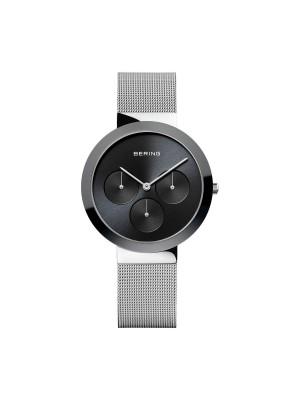 Bering reloj unisex multifunción gris