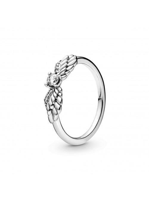 Pandora anillo Alas de Ángel Brillantes