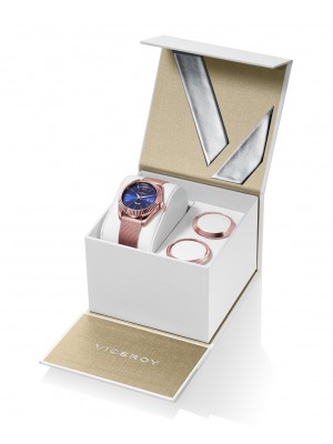Viceroy reloj Antonio Banderas Design 35,5mm acero PVD rosa