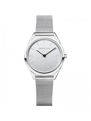 Bering, reloj Ultra Slim de mujer plateado