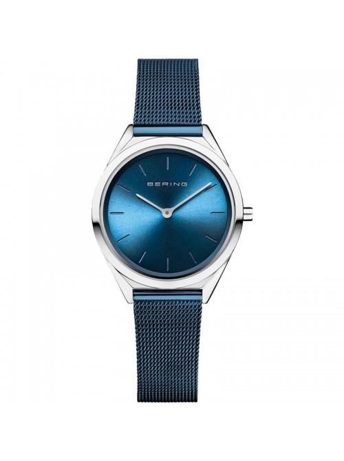 Bering, reloj Ultra Slim de mujer azul