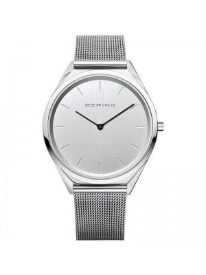 Bering, reloj Ultra Slim de hombre plateado