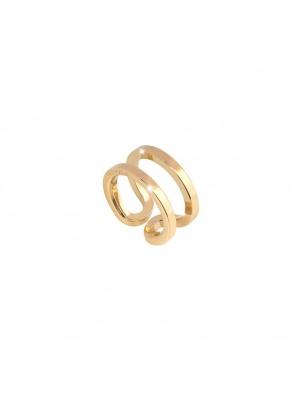 Rebecca, anillo en bronce chapado en oro