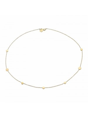 Gargantilla Tanger en plata chapada en oro de Duran Exquse