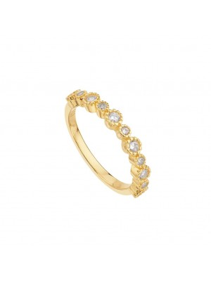 Itemporality Anillo Corona Oro
