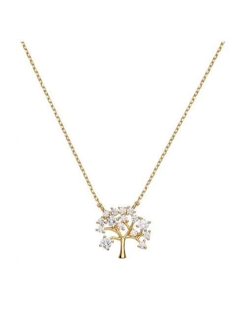Itemporality  Collar Árbol Oro