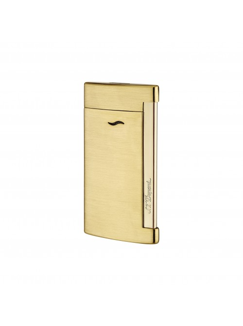 S.T. Dupont Slim 7 Lighter Golden Brushed
