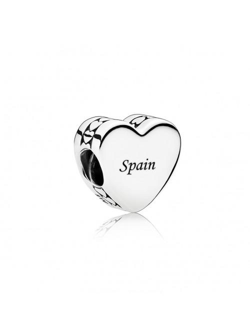 Pandora charm en plata de Ley Spain