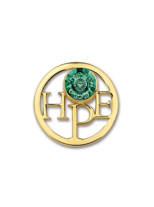 Mi Moneda, Hope Vintage Gold Plated
