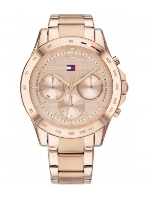 Tommy Hilfiger Haven acero IP oro rosado 38 mm