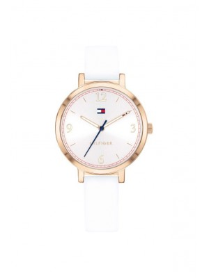 Tommy Hilfiger Kids acero IP oro rosa 32 mm