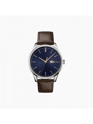 Lacoste, reloj de hombre Vienna con tres agujas piel