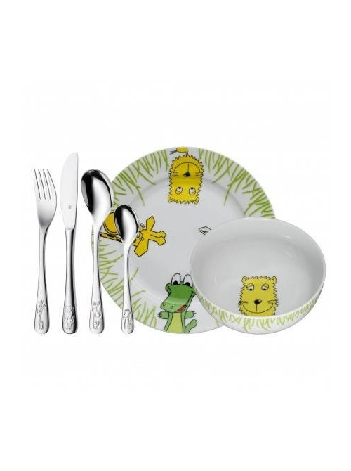 WMF vajilla infantil 6 piezas Safari