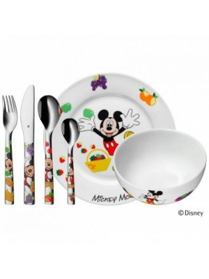 WMF vajilla infantil 6 piezas Mickey Mouse
