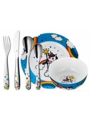 WMF vajilla infantil 6 piezas Unicornio