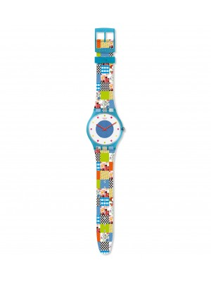 Swatch New Gent Quilted time
