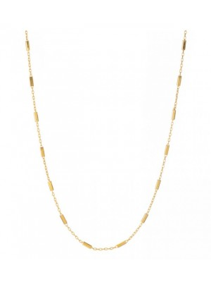 Alisia, collar Frida en plata chapado en oro