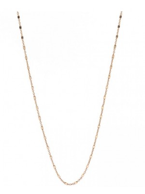 Alisia, collar Miss Penelope en plata chapado en oro