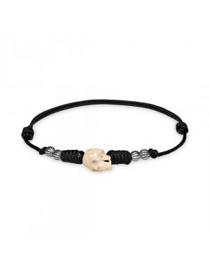PlatadePalo pulsera Skull-CAB36D