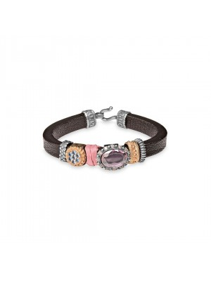 Plata de Palo pulsera Woman Goodall Sixty Eight