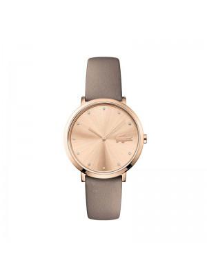 Lacoste, reloj de mujer Moon con dos agujas IP Rosa
