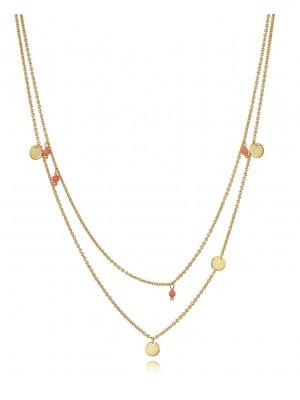 Viceroy collar múltiple en plata dorada diseño Trend