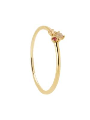 P D Paola anillo Rosé Blush