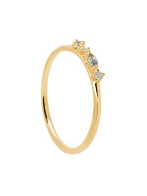 P D Paola anillo Midnight Blue