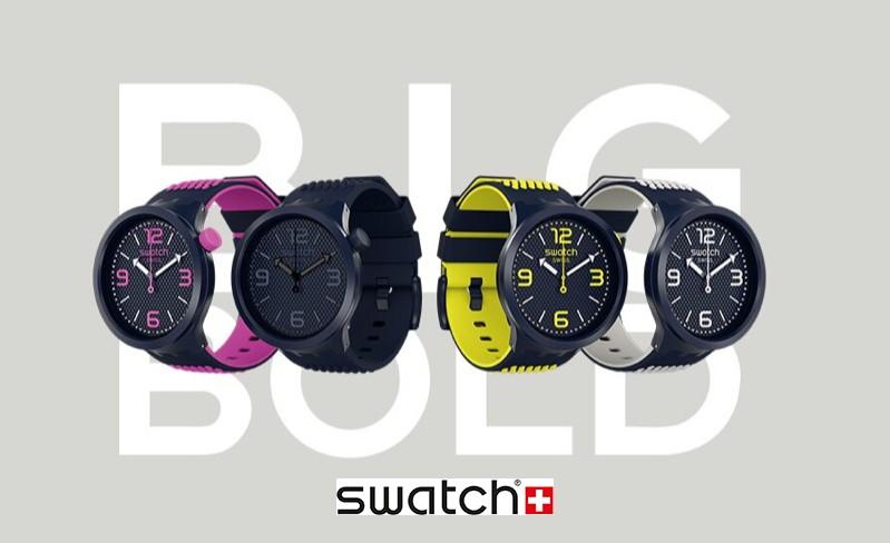 Swatch Big Bold, se tu yo más fuerte