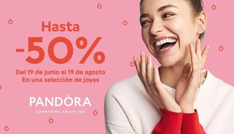 Rebajas de verano Pandora ya en Montero Joyeros de Algeciras