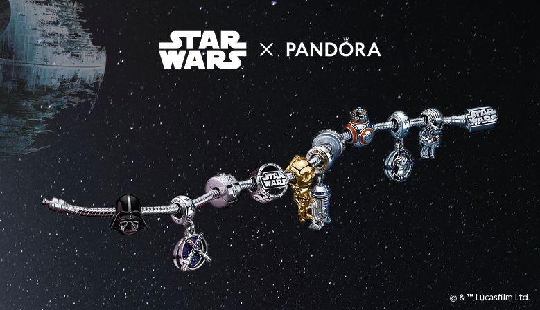 Pandora, charms de Star Wars™ en Montero Joyeros de Algeciras