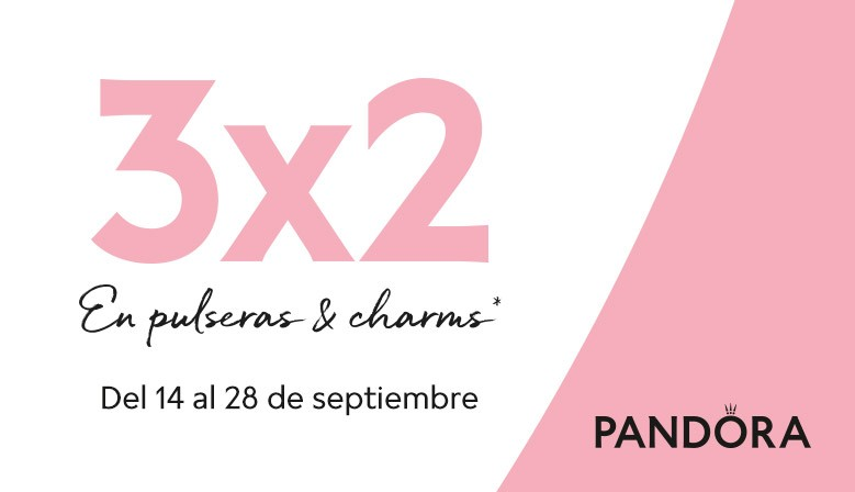 Pandora 3x2 en Joyería Montero deAlgeciras